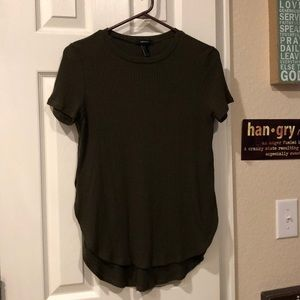 3/30! Forever 21 Soft Olive Green Tee